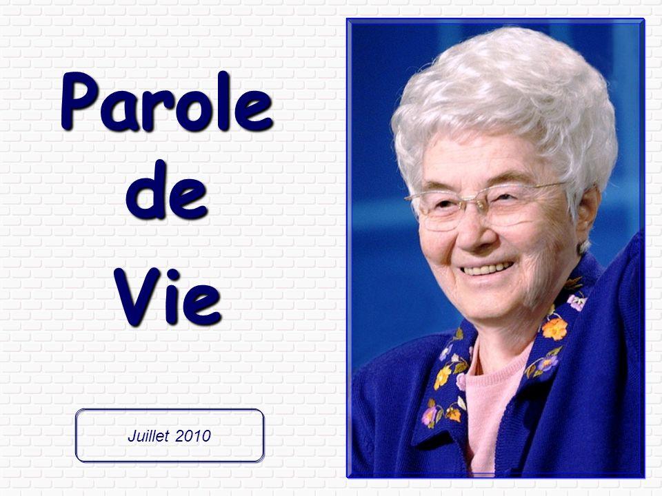 Parole de Vie Juillet 2010
