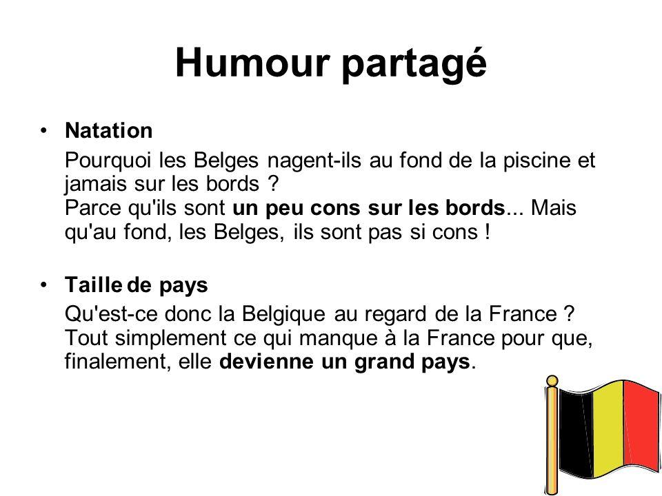 Humour partagé Natation