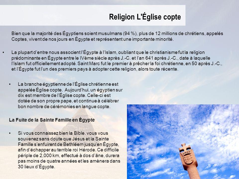 Religion L Église copte
