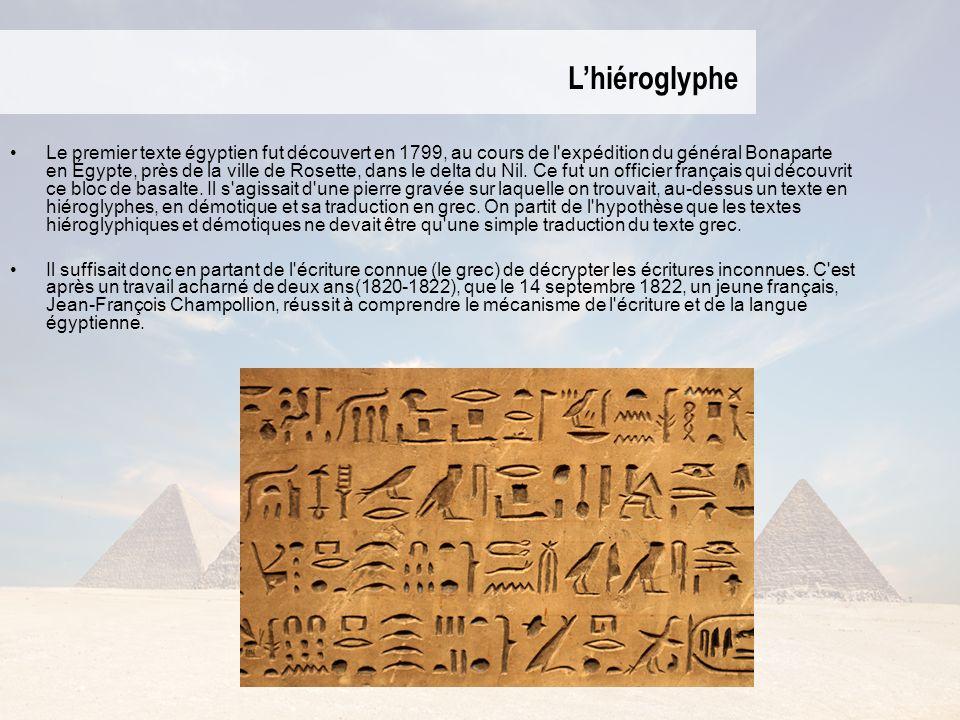 L'hiéroglyphe