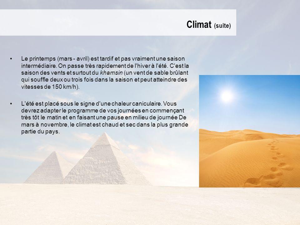 Climat (suite)