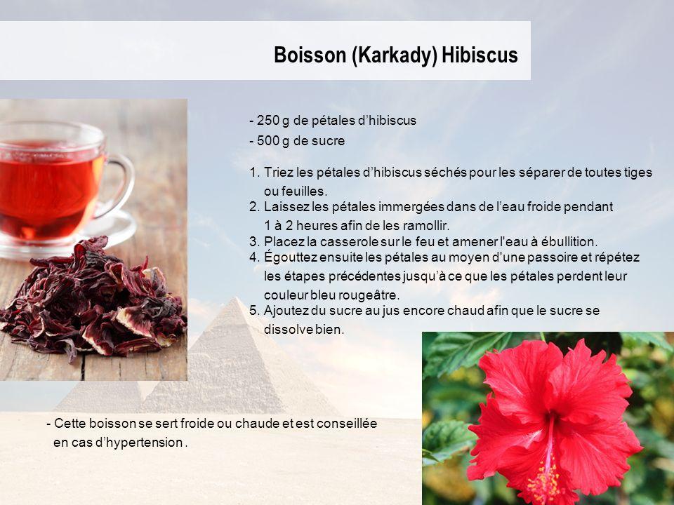 Boisson (Karkady) Hibiscus