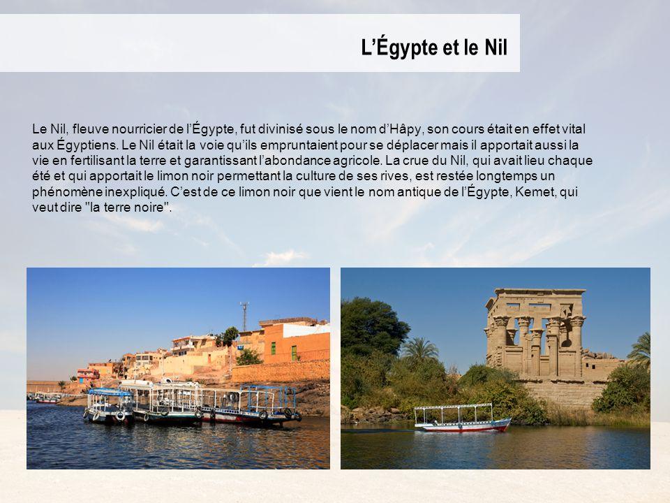 L'Égypte et le Nil