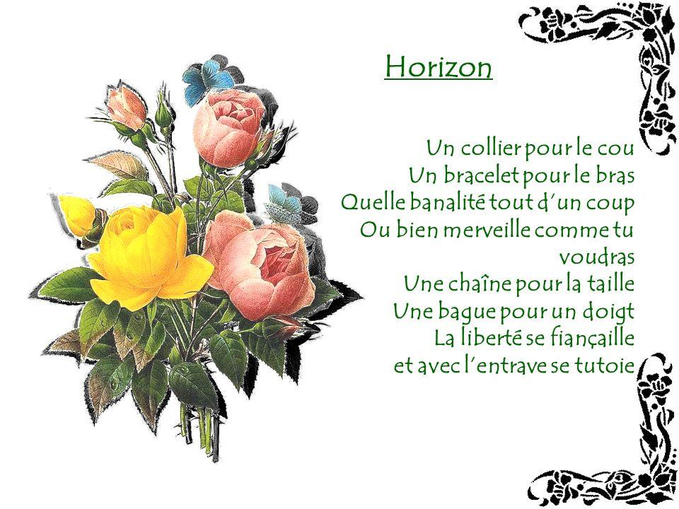 Horizon Un collier pour le cou Un bracelet pour le bras