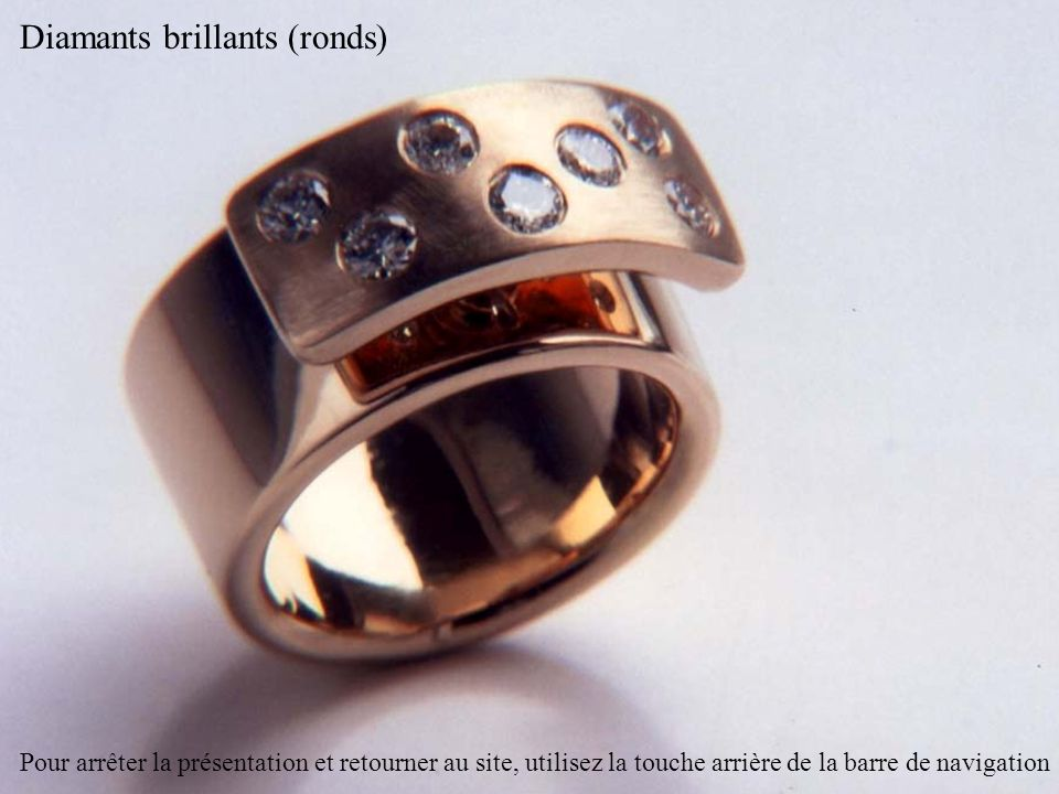 Diamants brillants (ronds)