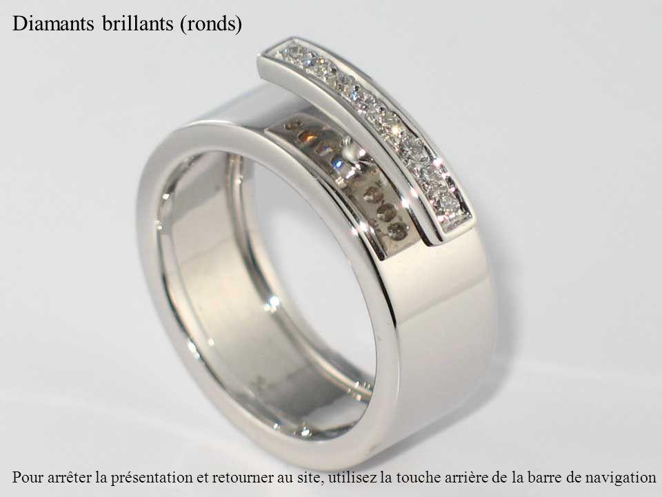 Diamants brillants (ronds)