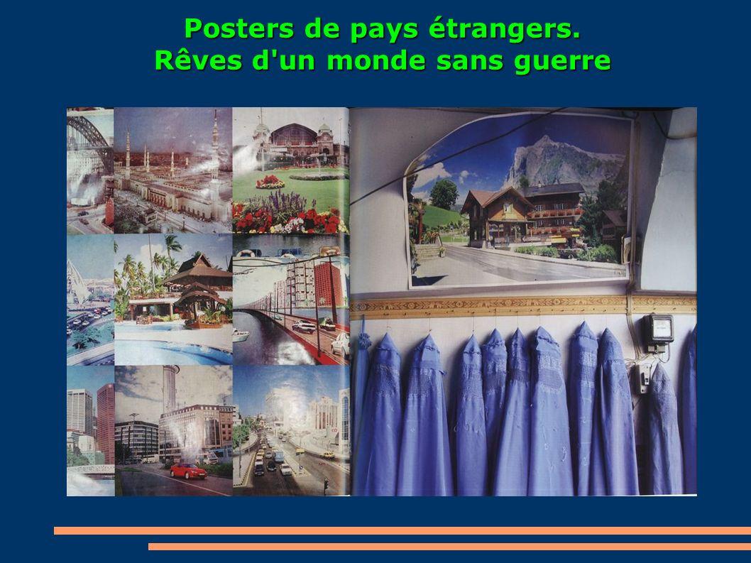 Posters de pays étrangers. Rêves d un monde sans guerre
