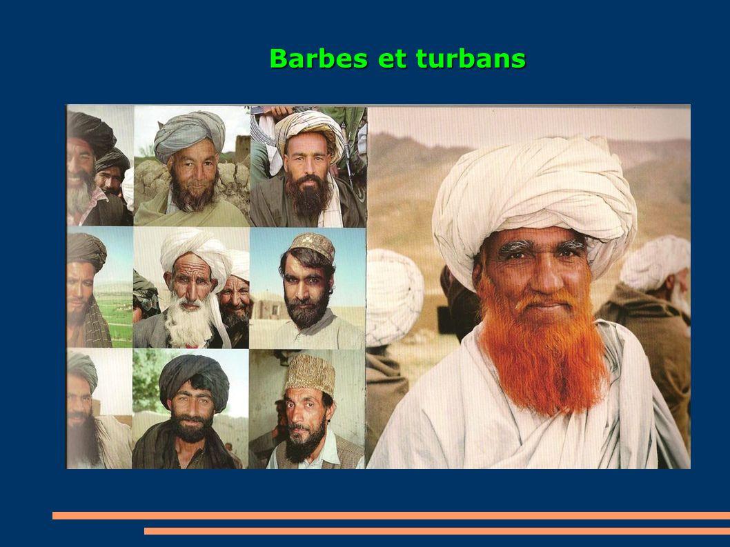 Barbes et turbans