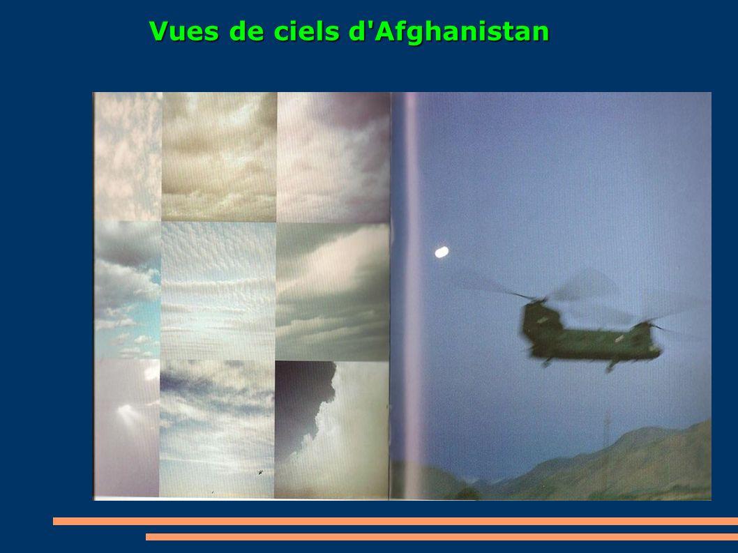 Vues de ciels d Afghanistan
