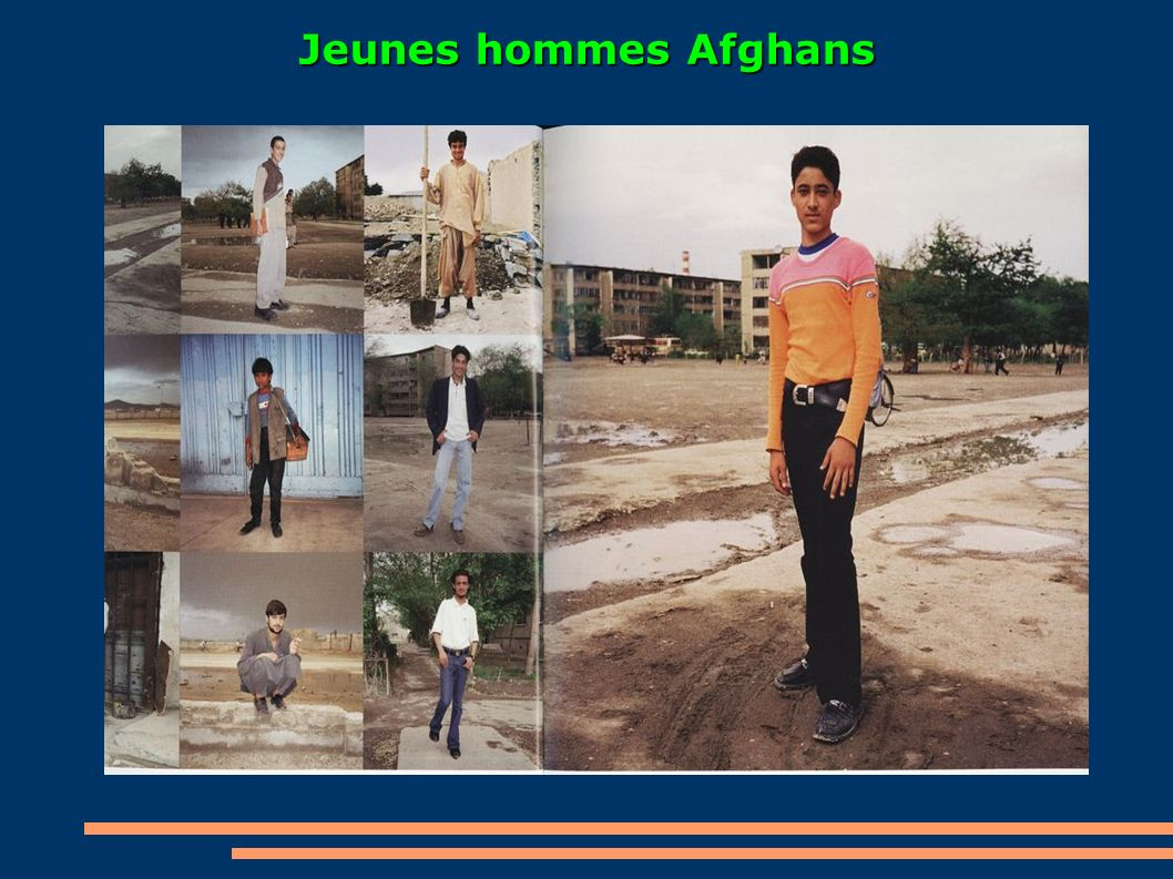Jeunes hommes Afghans