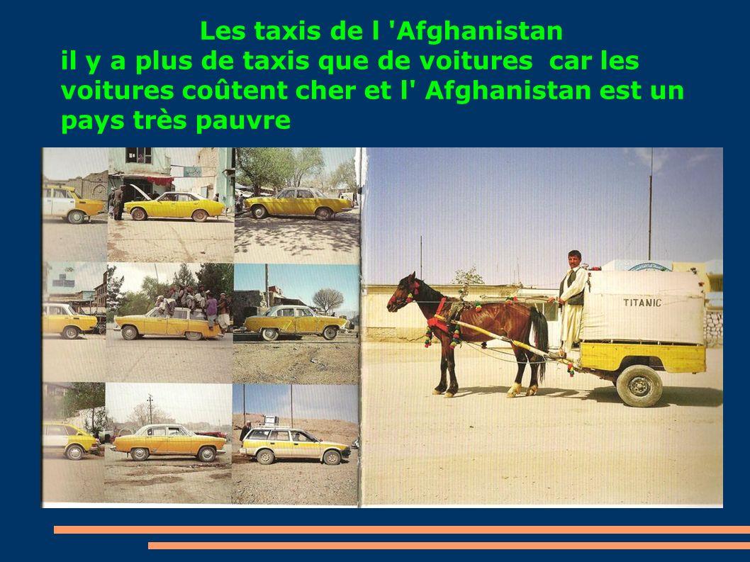Les taxis de l Afghanistan