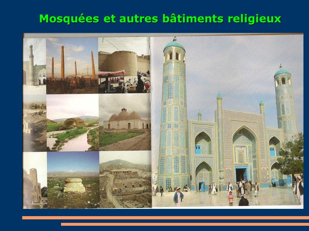 Mosquées et autres bâtiments religieux