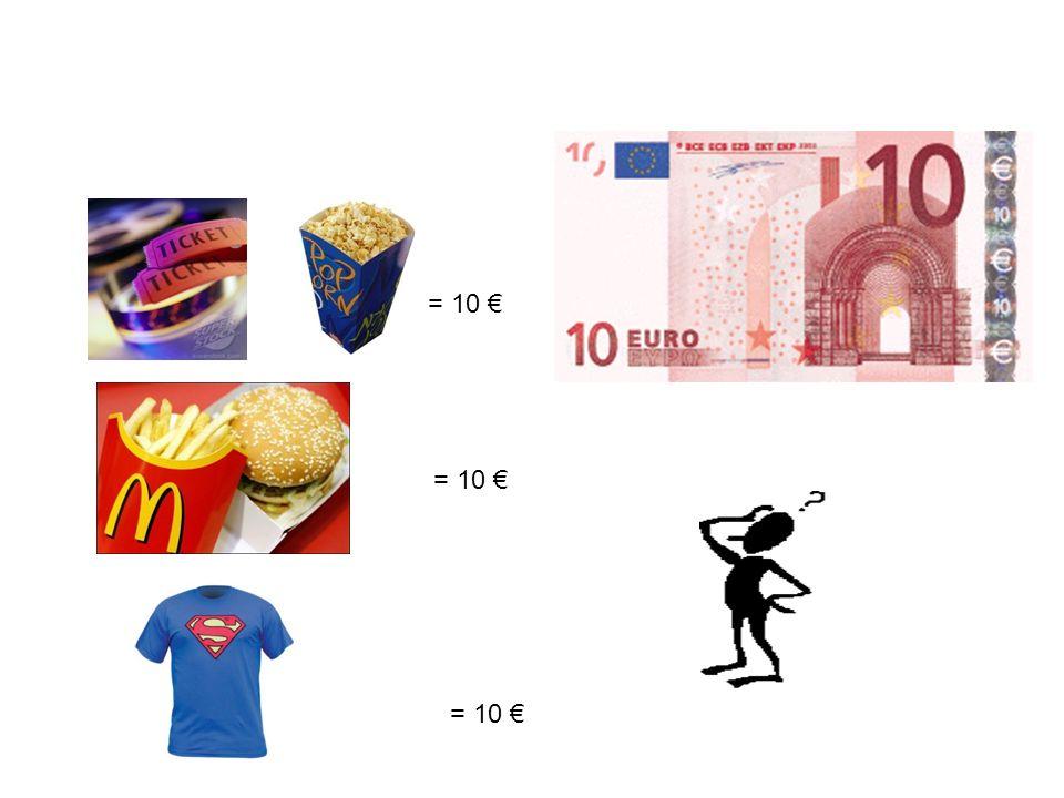 = 10 € = 10 € = 10 €