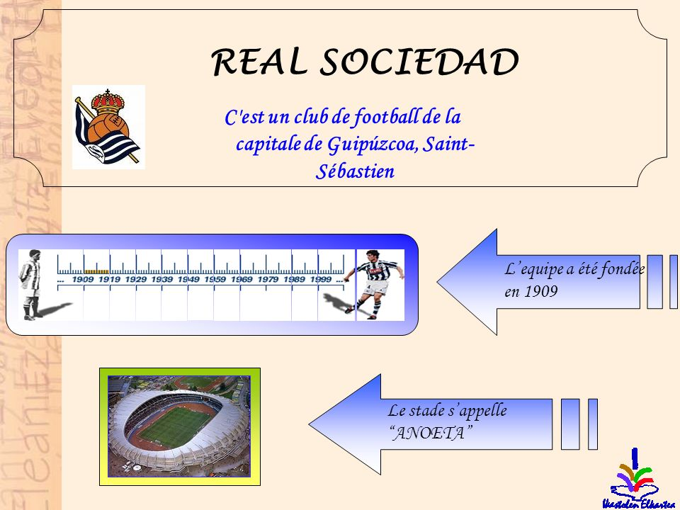 C est un club de football de la capitale de Guipúzcoa, Saint-Sébastien