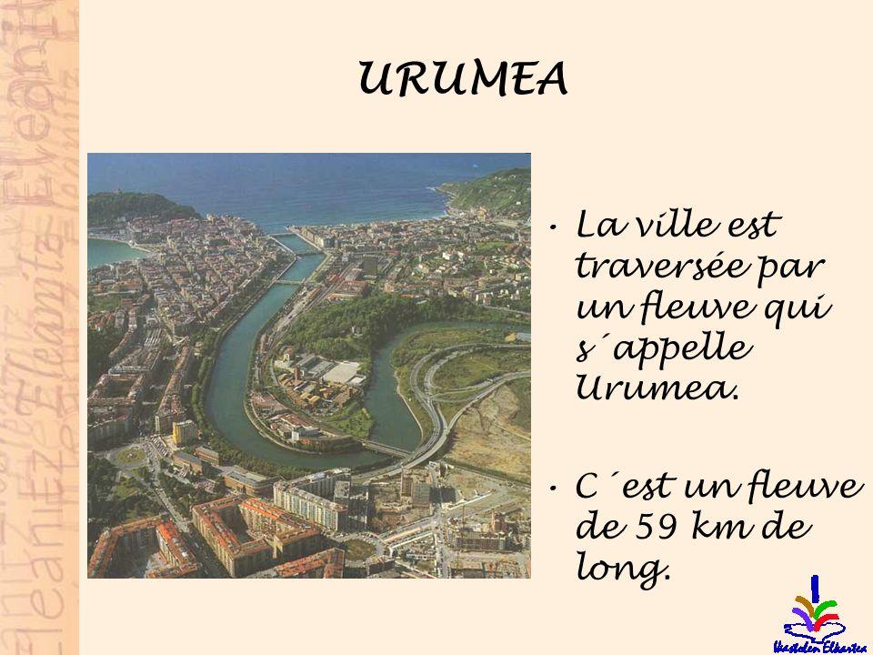 URUMEA La ville est traversée par un fleuve qui s´appelle Urumea.