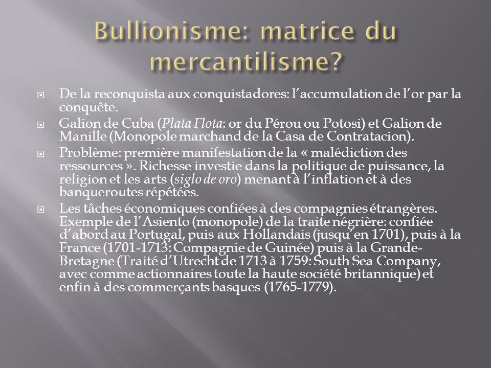 Bullionisme: matrice du mercantilisme