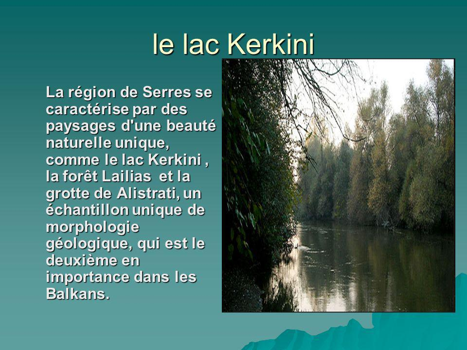 le lac Kerkini