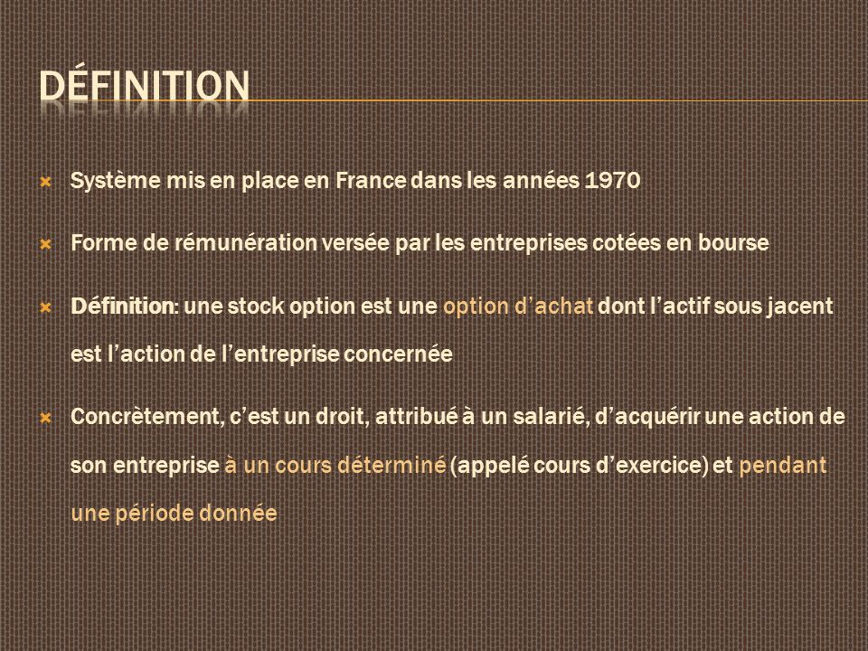Définition Système mis en place en France dans les années 1970