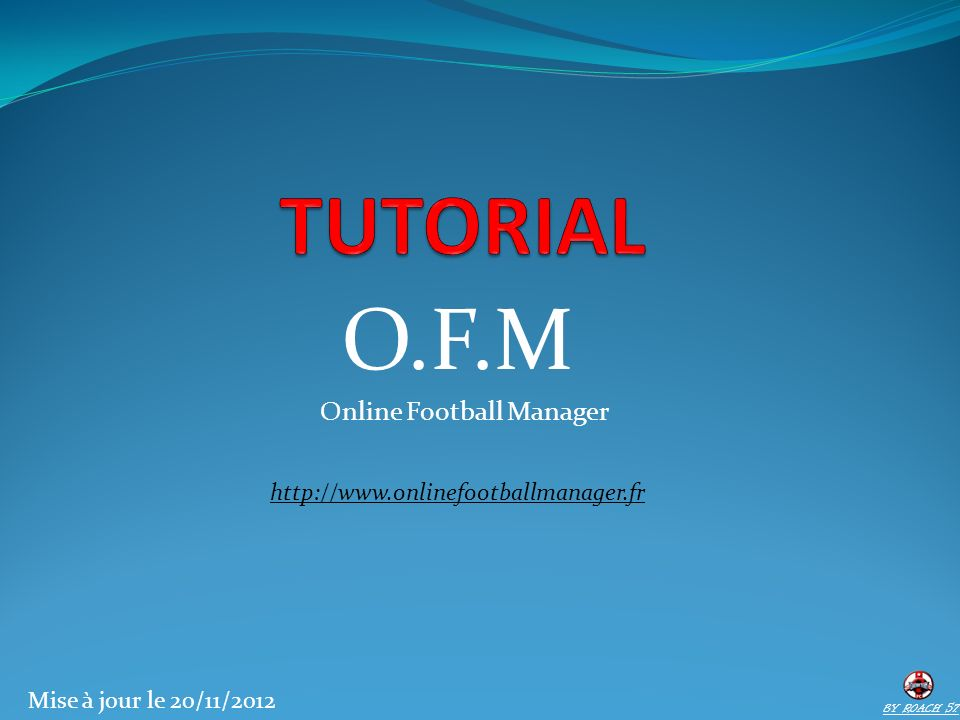 O.F.M Online Football Manager