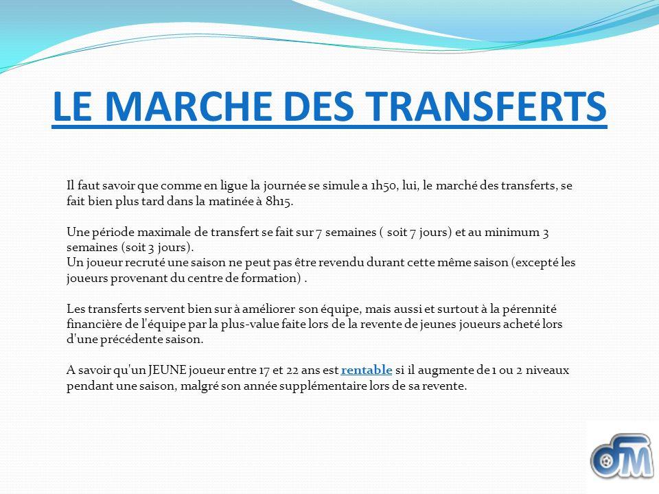 LE MARCHE DES TRANSFERTS