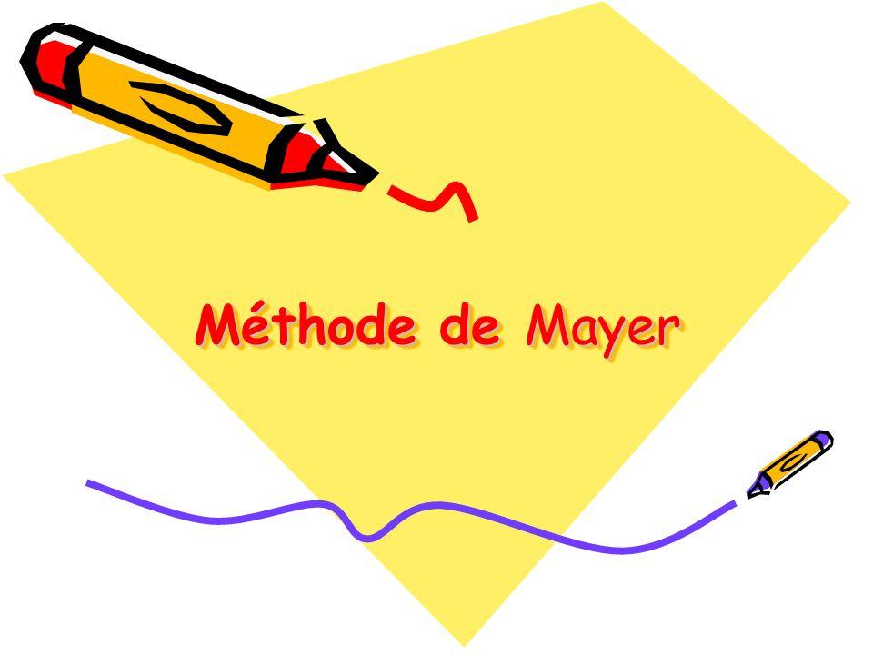 Méthode de Mayer