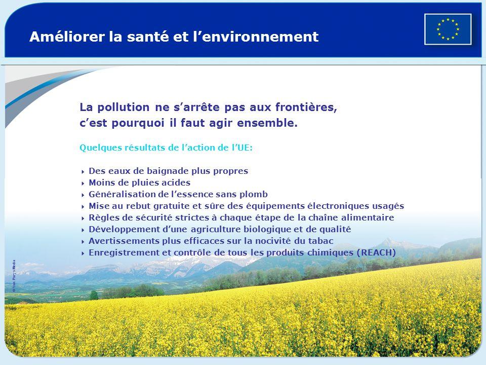 Améliorer la santé et l'environnement
