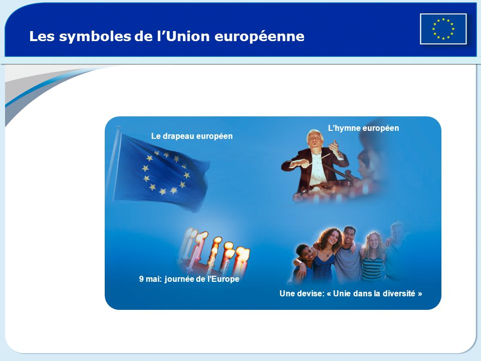 Les symboles de l'Union européenne
