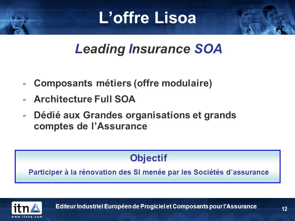 Participer à la rénovation des SI menée par les Sociétés d'assurance