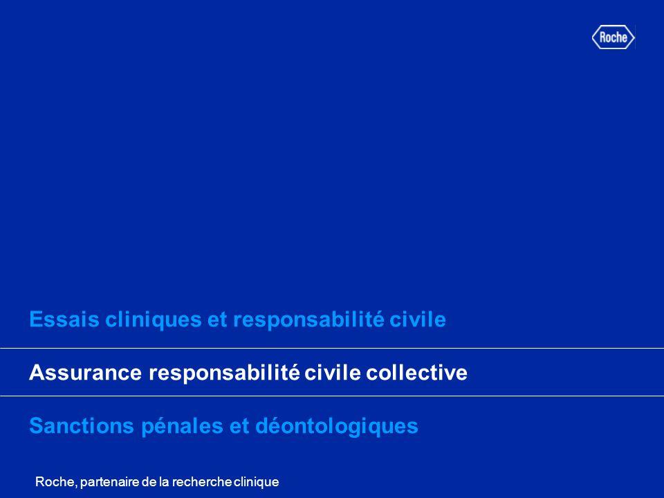 Essais cliniques et responsabilité civile