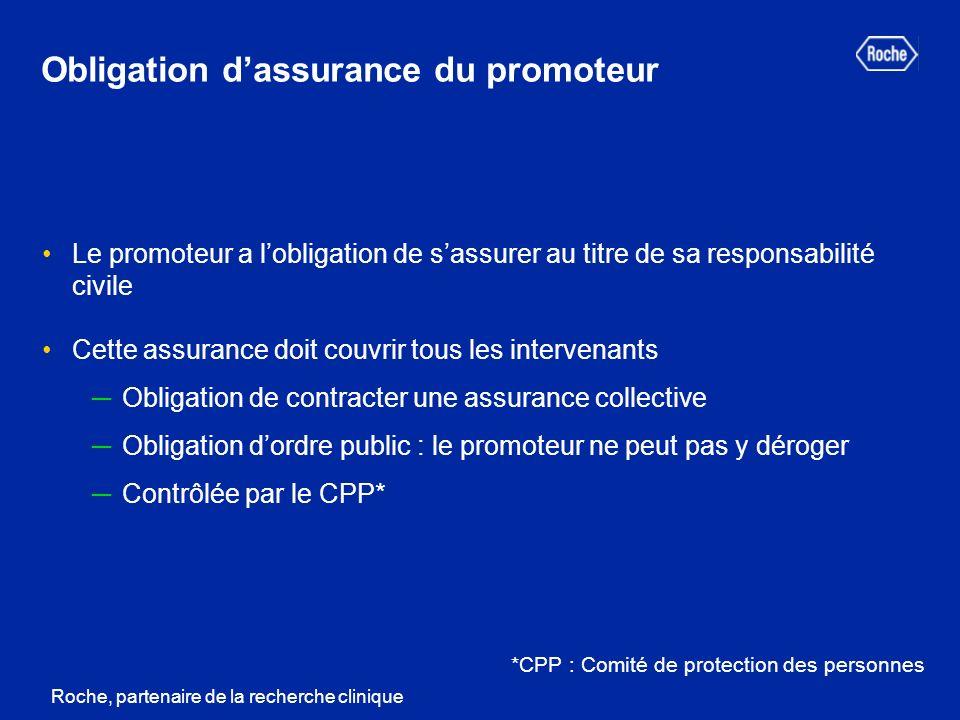 Obligation d'assurance du promoteur