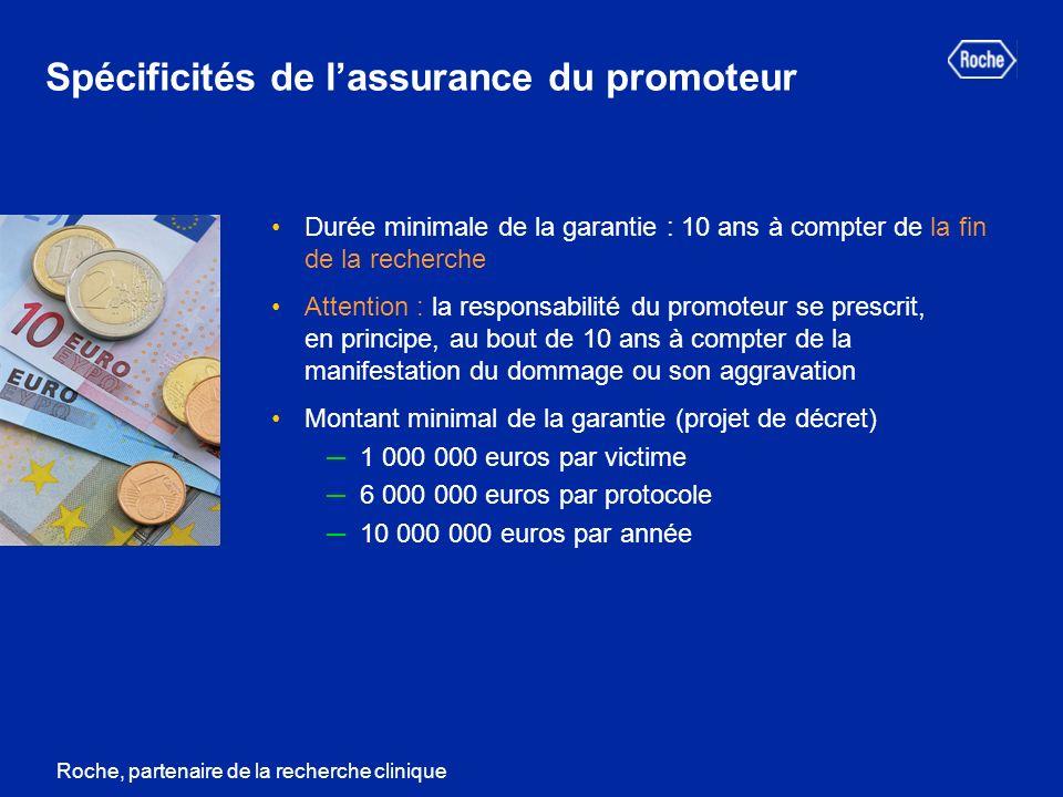 Spécificités de l'assurance du promoteur