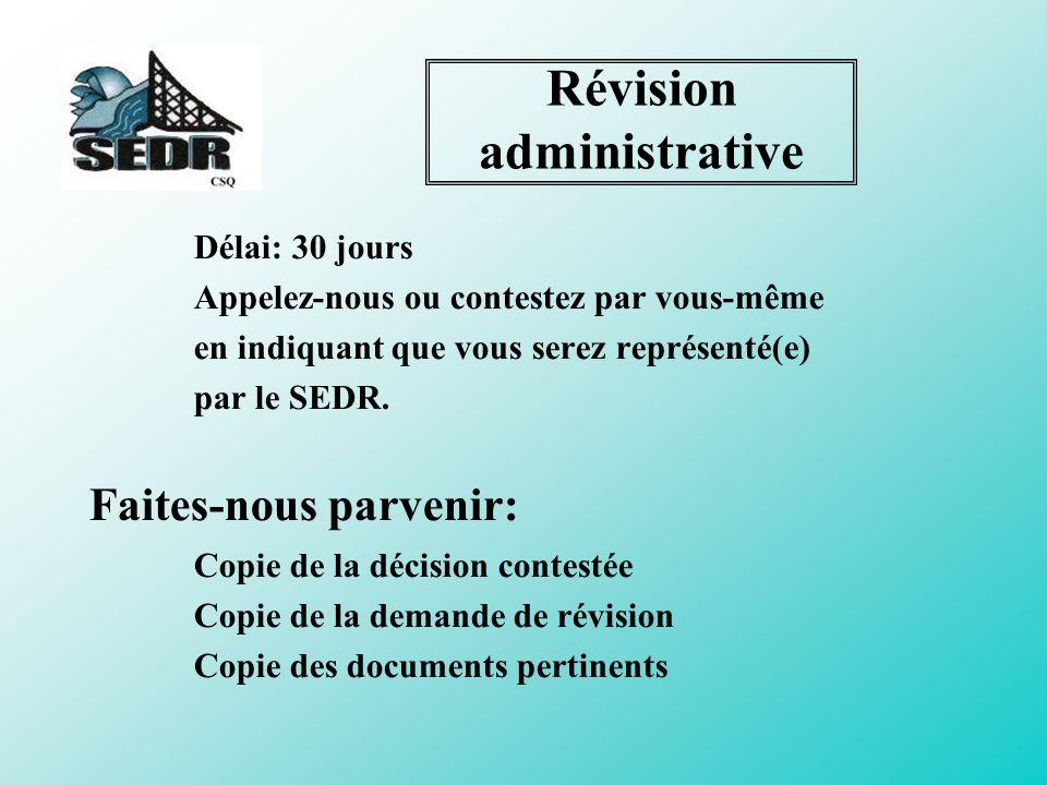 Révision administrative