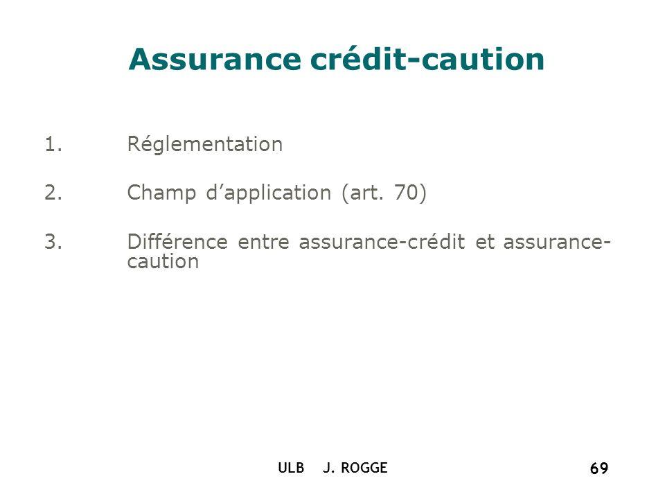 Assurance crédit-caution
