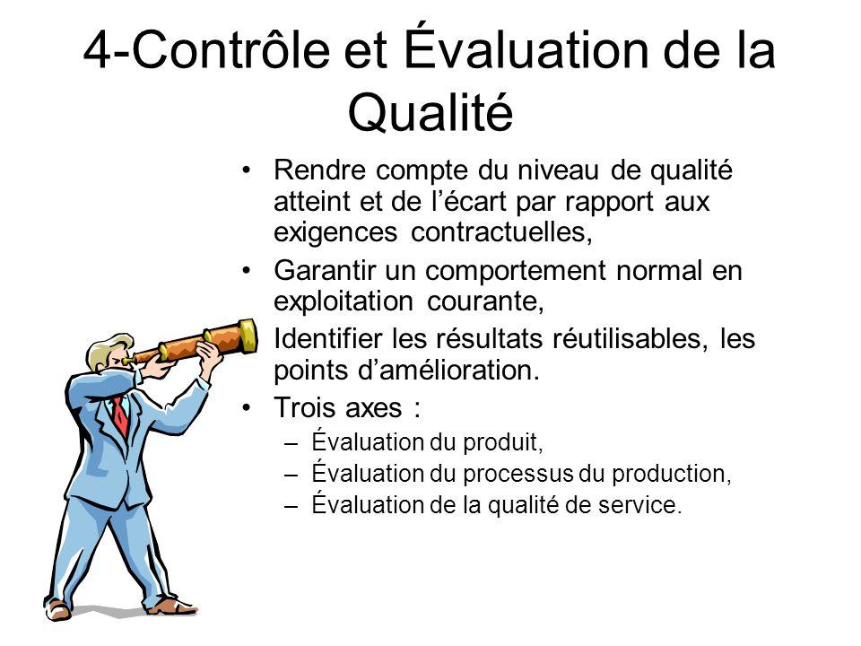 4-Contrôle et Évaluation de la Qualité