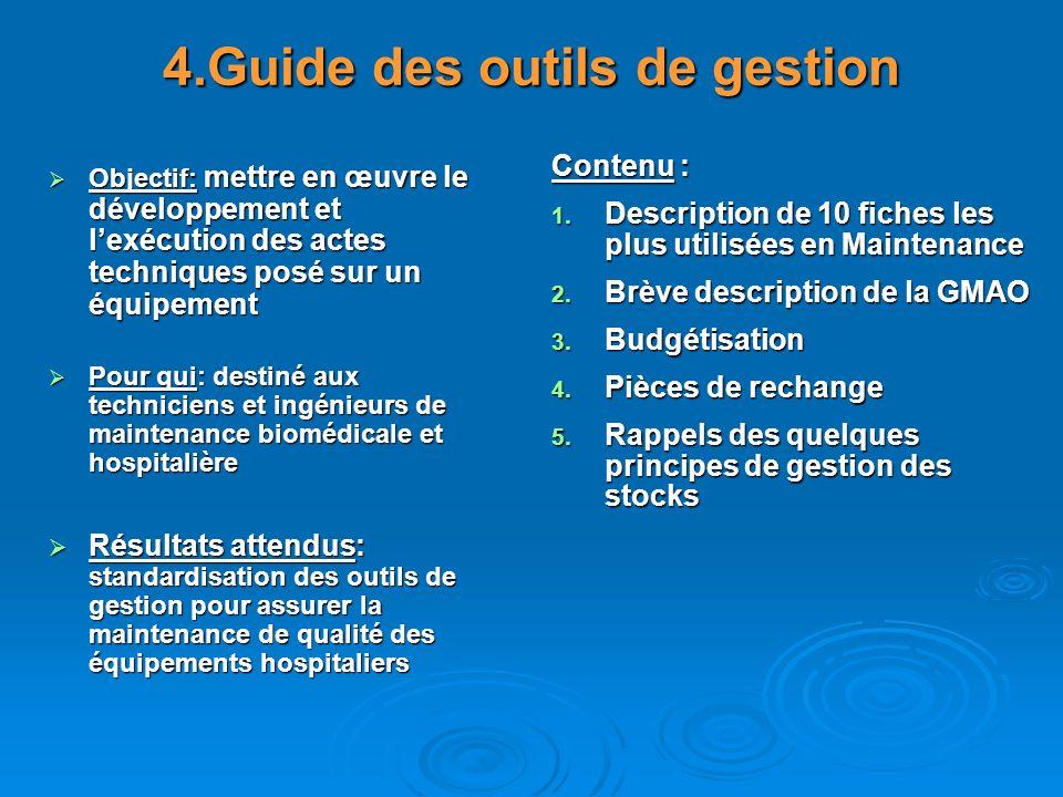 4.Guide des outils de gestion