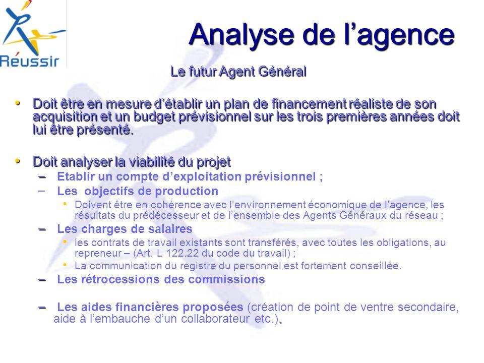 Analyse de l'agence Le futur Agent Général