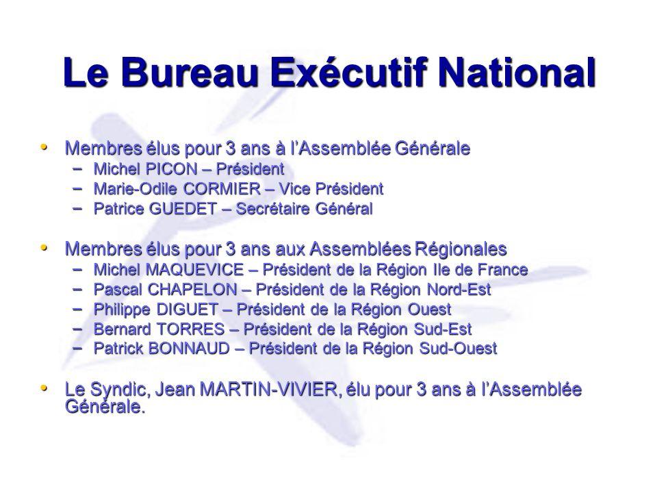 Le Bureau Exécutif National