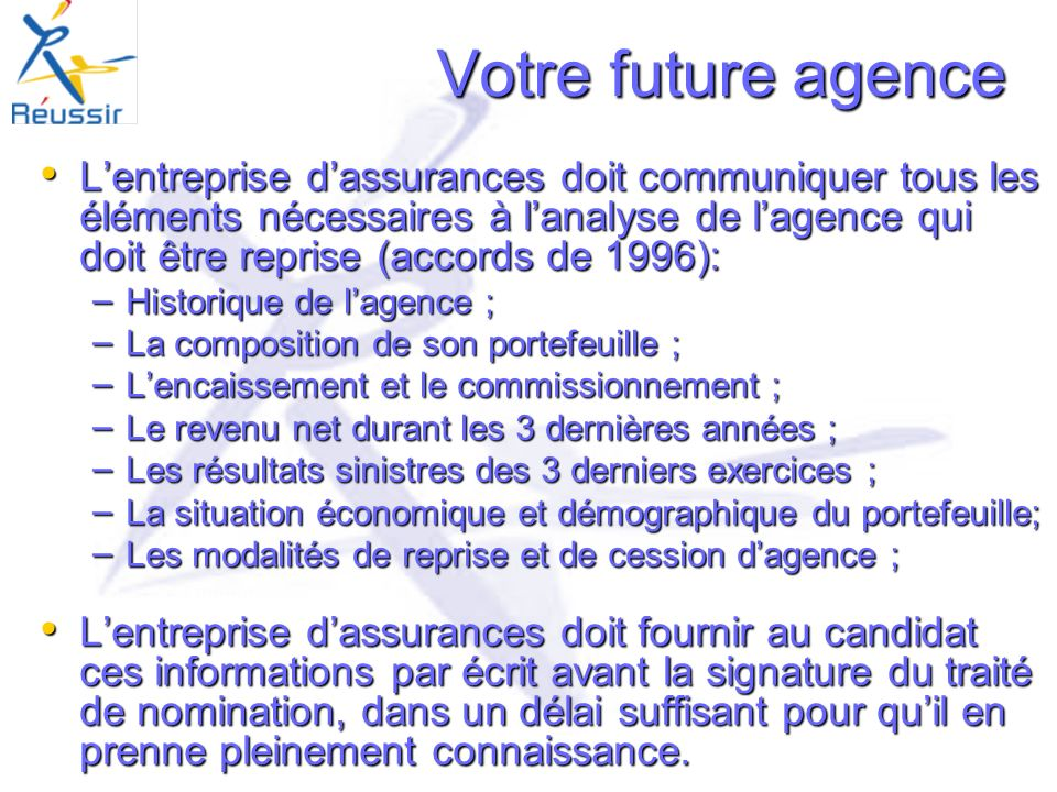 Votre future agence