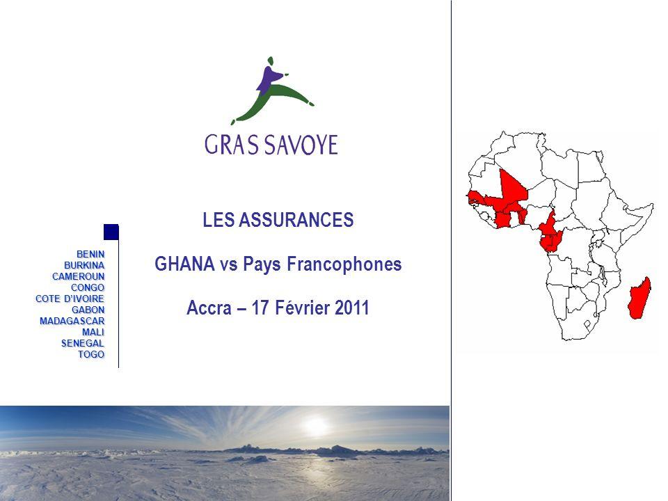 GHANA vs Pays Francophones