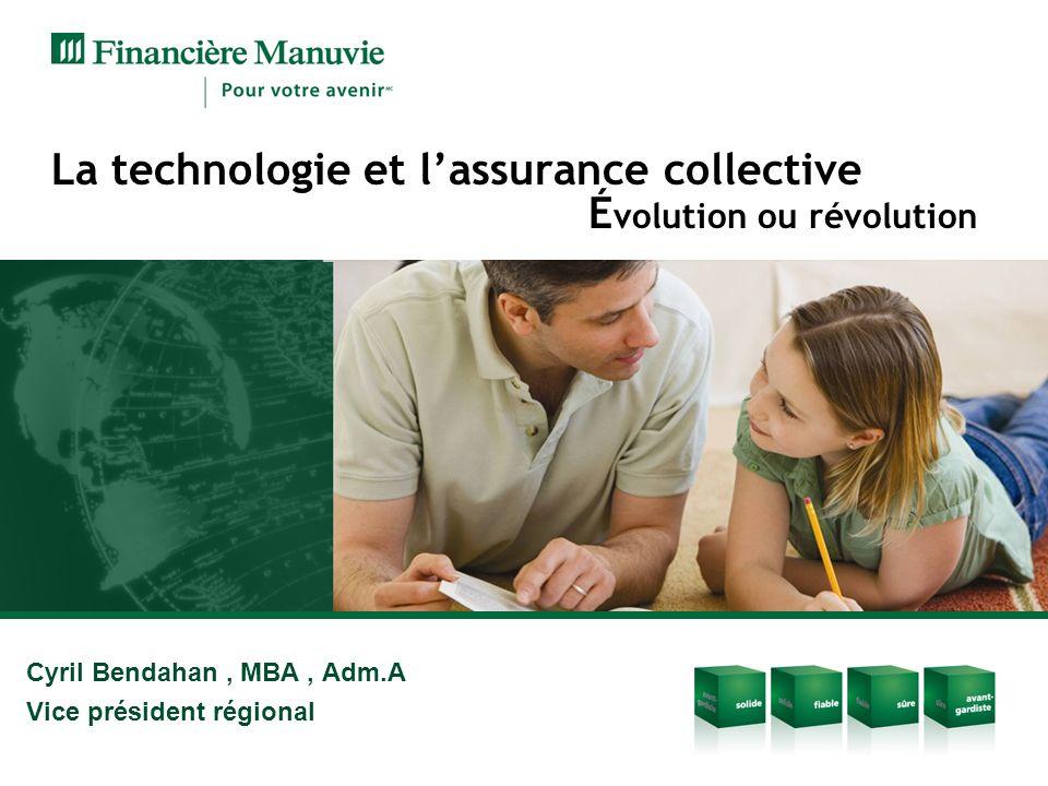 La technologie et l'assurance collective Évolution ou révolution