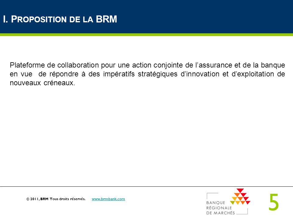 I. Proposition de la BRM