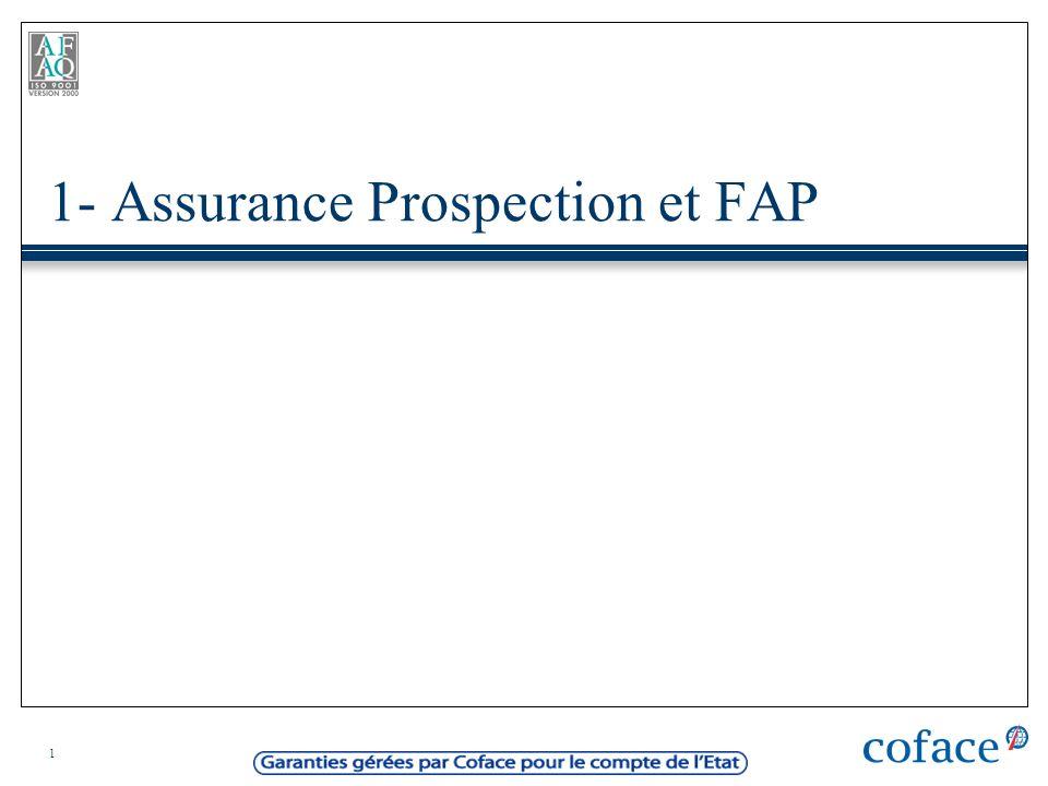 1- Assurance Prospection et FAP