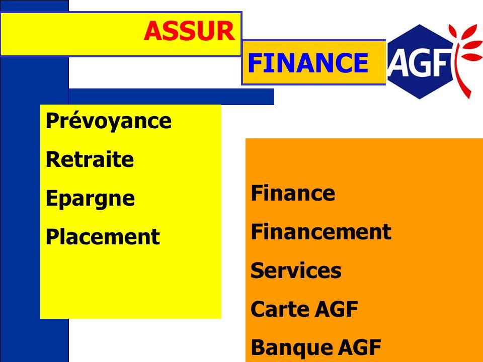 ASSUR FINANCE Prévoyance Retraite Epargne Finance Placement