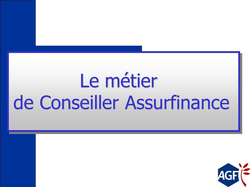 Le métier de Conseiller Assurfinance