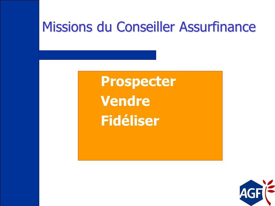 Missions du Conseiller Assurfinance