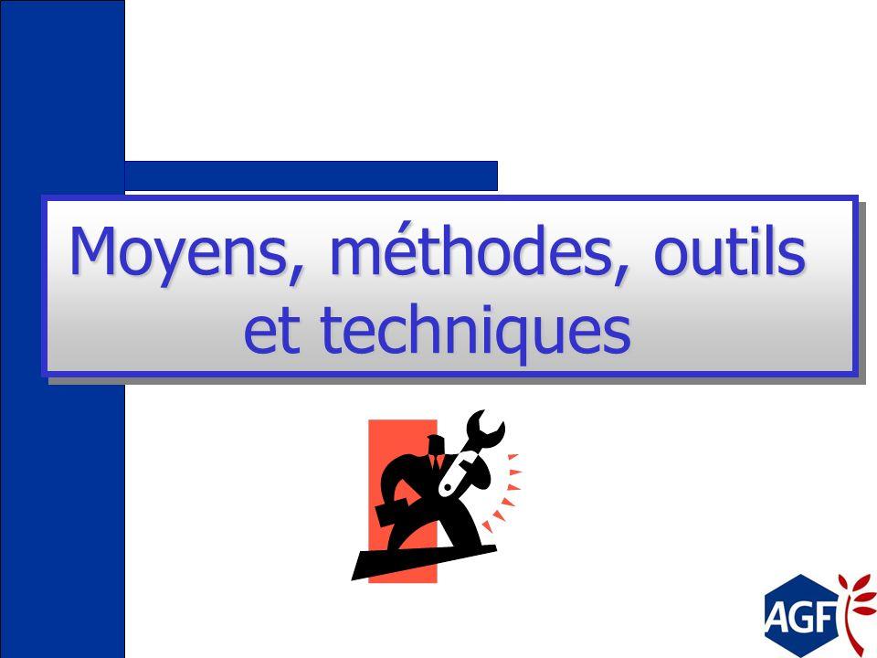 Moyens, méthodes, outils et techniques