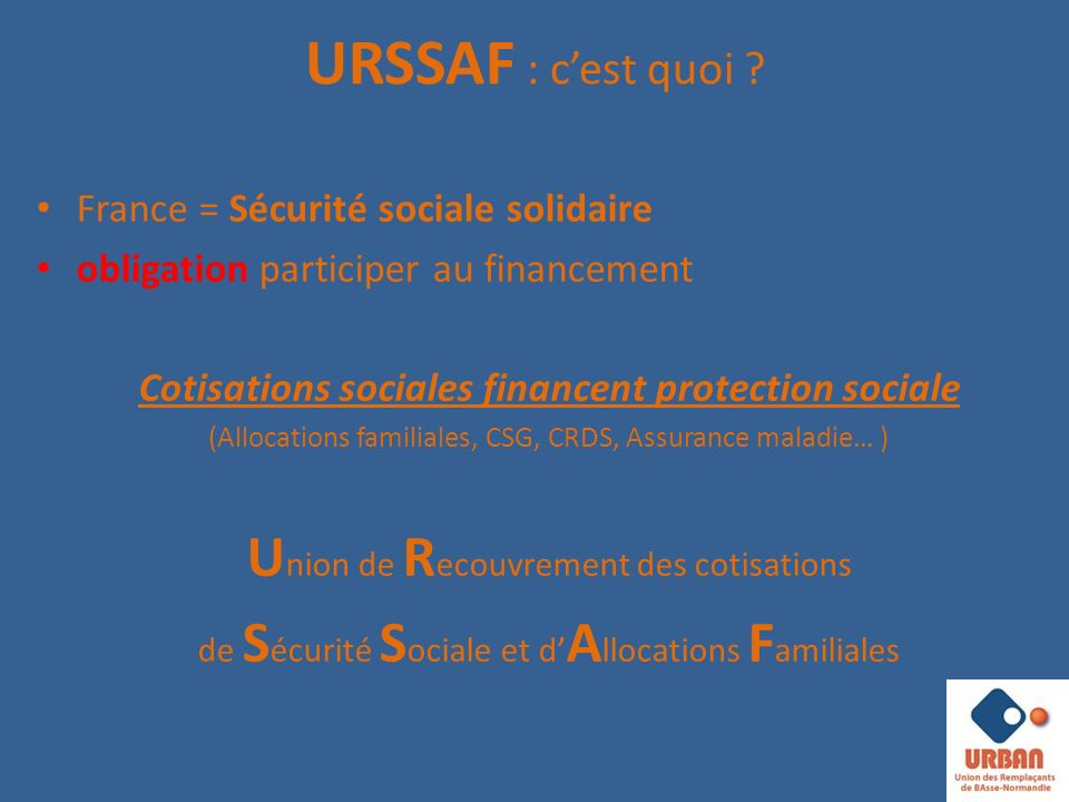 Cotisations sociales financent protection sociale