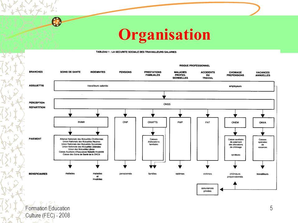 Organisation Formation Education Culture (FEC) - 2008