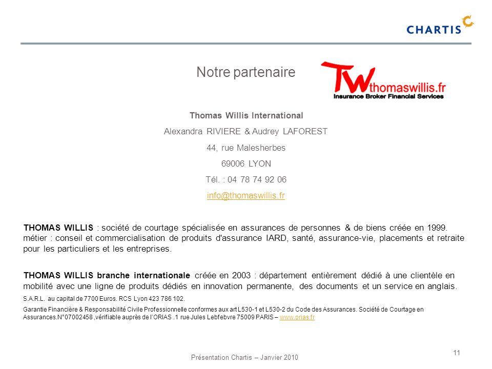 Thomas Willis International