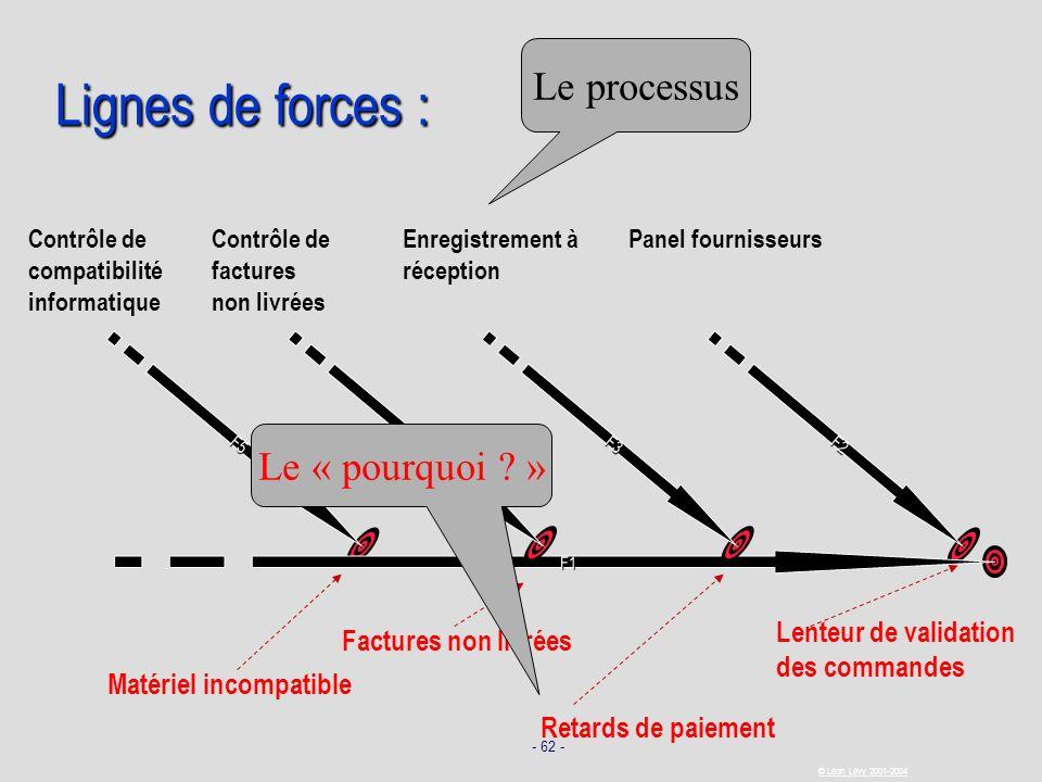 Lignes de forces : Le processus Le « pourquoi »